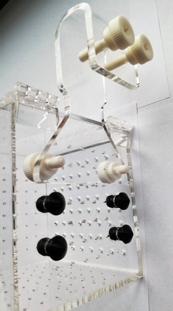 Einhängekasten für Garnelen 10x10x10 cm