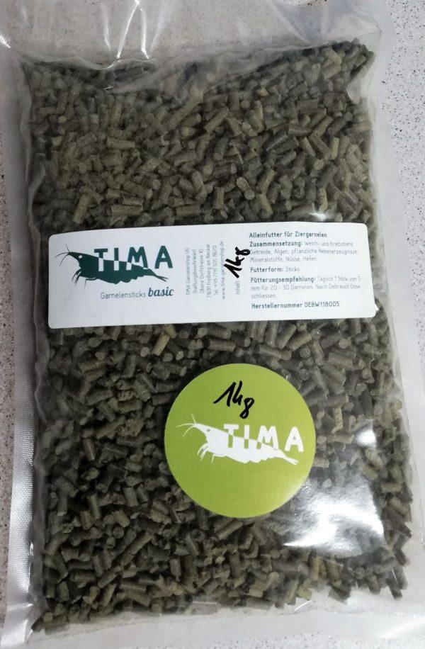 TIMA Garnelenstick Basic 1kg (Beutel)